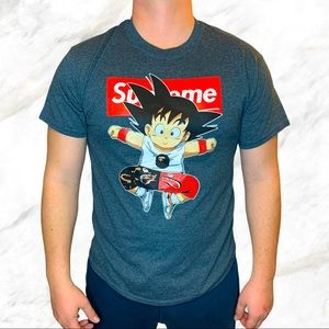 Gildan   Supreme x Goku Graphic T-Shirt